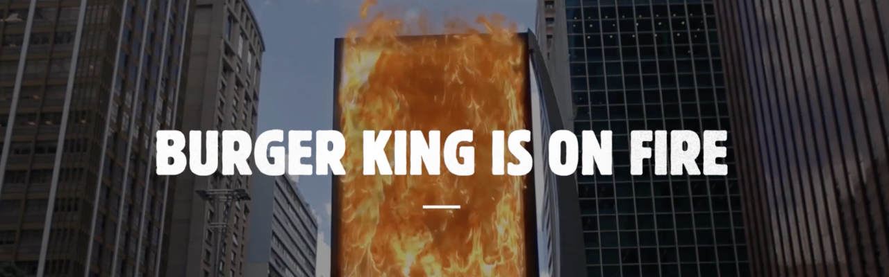 "Burger King ""Burn that Ad"""